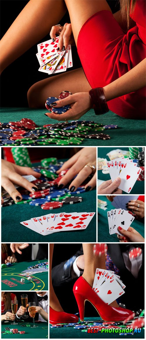 Gambling, casino, stock photo