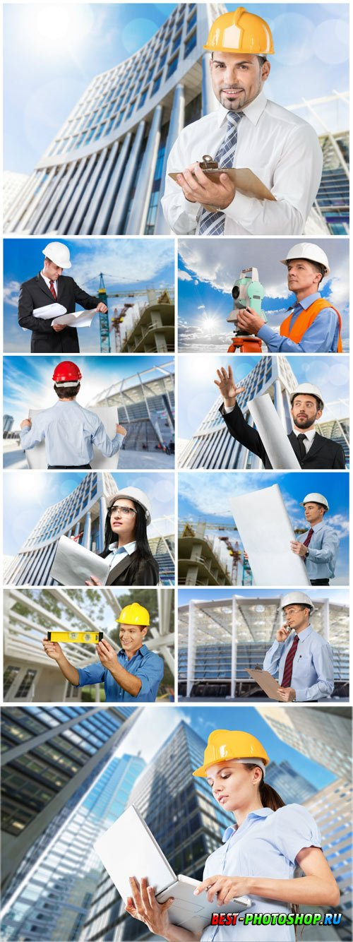 Architecture and construction concept stock photo