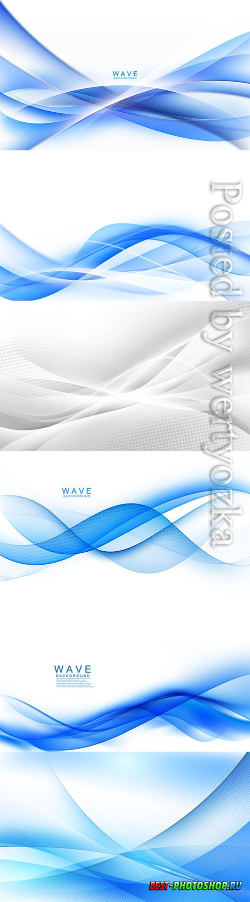 Abstract blue background dynamic