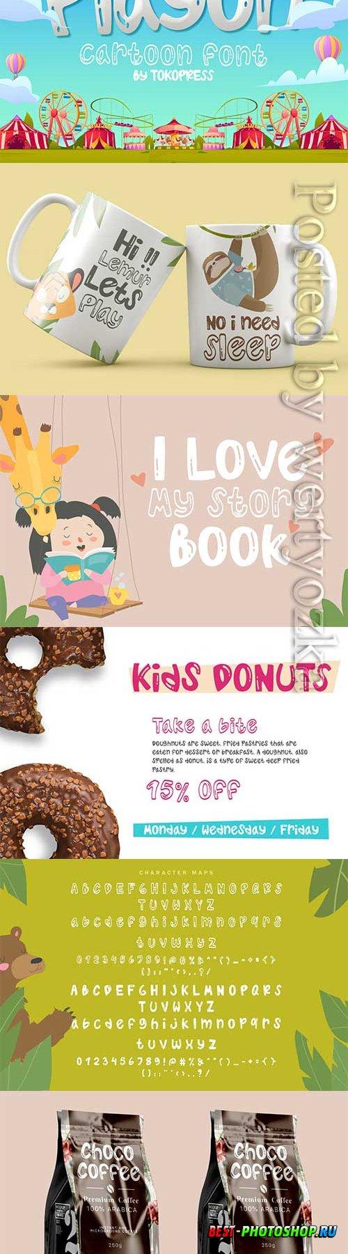 Playon - kids font