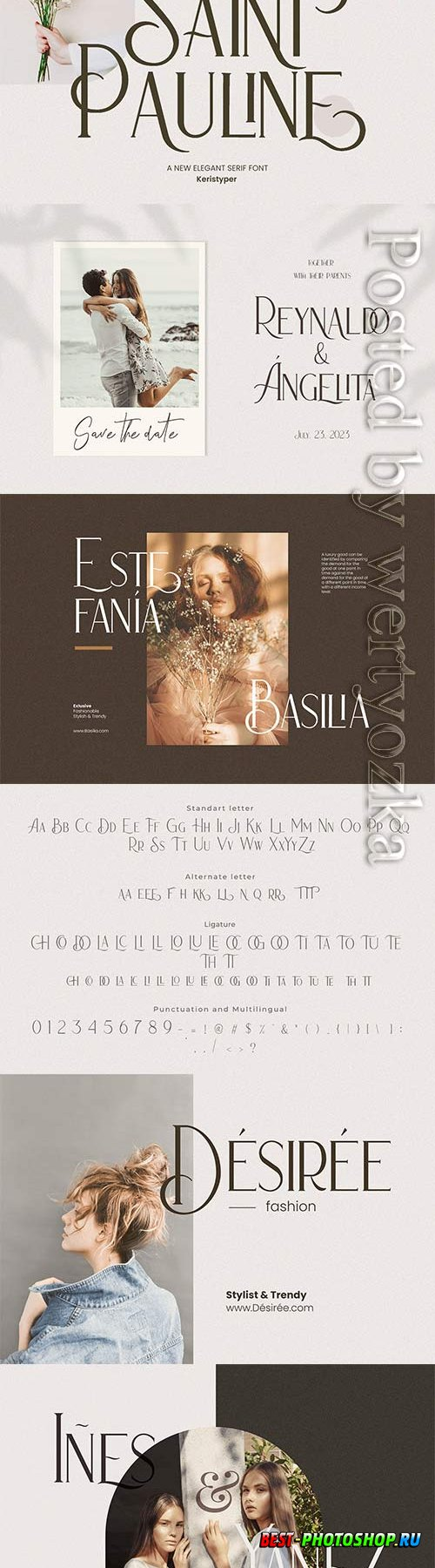 Saint Pauline Serif Font