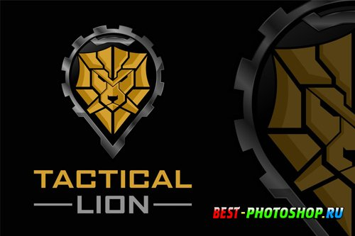 Tactical Lion Logo design templates