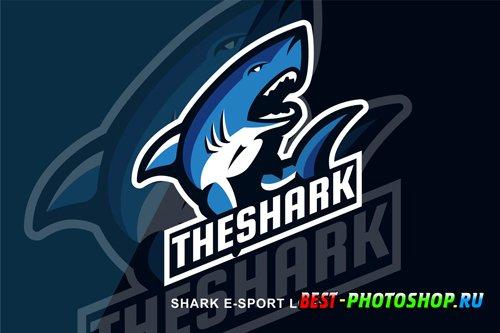 Shark E Sport Logo design templates
