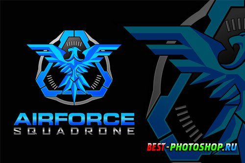 Tactical military eagle logo design templates