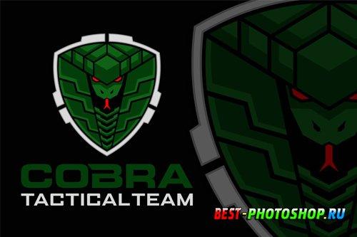 Tactical Cobra Snake Logo design templates
