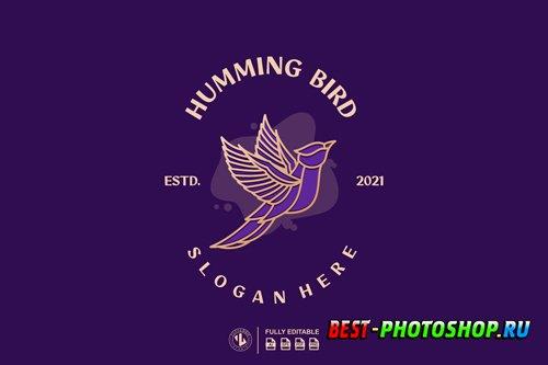 HUMMING BIRD LOGO TEMPLATES