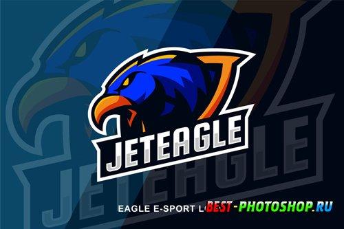 Eagle E Sport Logo design templates