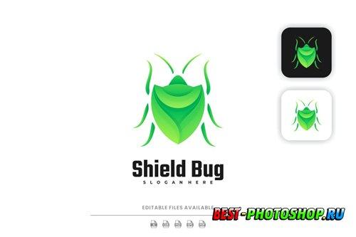 Shield Bug Gradient Logo