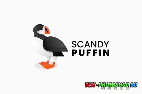 Puffin Gradient Logo