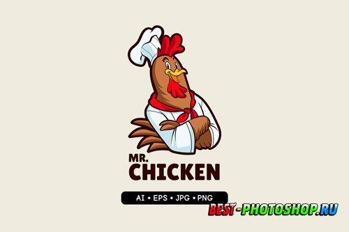 MrChicken - Mascot Logo