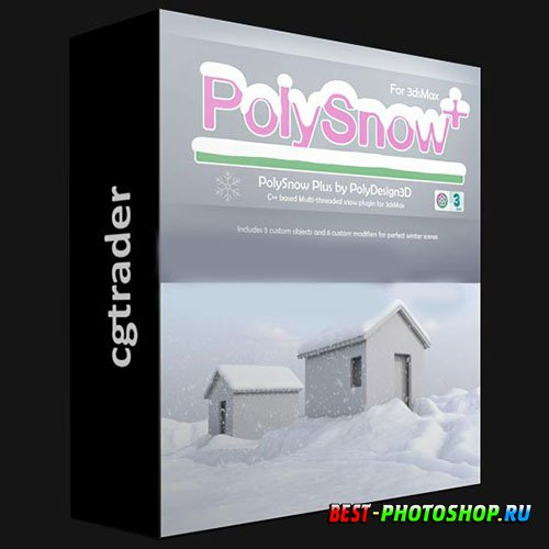 POLYSNOW+ V1.01 AND POLYCLOTH V2.02 FOR 3DS MAX 2016-2022 WIN X64